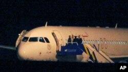 Sirijski putnički avion koji su prizemljile turske snage