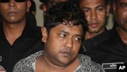Mohammed Sohel Rana ditangkap pasukan komando, setelah menghilang sejak runtuhnya pabrik garmen Bangladesh hari Rabu (24/4).