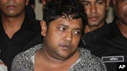 Mohammed Sohel Rana, propriétaire de l'immeuble qui s'est effondré au Bangladesh.