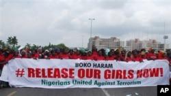 """Kungiyar """"Bring Back Our Girls"""" dake fafitikar ganin an sako 'yan matan Chibok"""