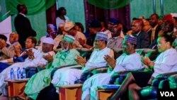 Taron da shugabannin Najeriya suka yi domin tabbatar da zaman lafiya a zaben 2019 a Abuja