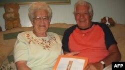 Фрэнк Перруччи с женой Джин