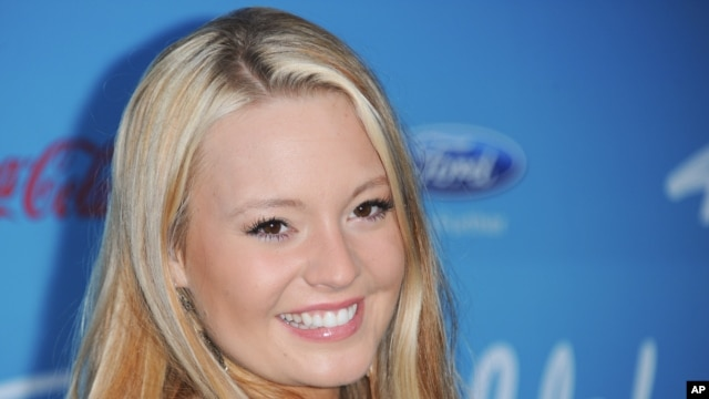 "Janelle Arthur attends the meet the ""American Idol"" finalist event at The Grove, March 7, 2013 in Los Angeles."