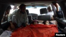 نیٹو طیاروں کی بمباری سے ہلاک شدہ خواتین
