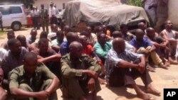 Ex-guerrilheiros da Renamo detidos em Nampula