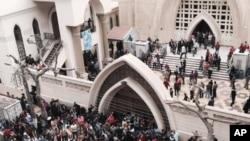 Ledakan bom di gereja di Mesir