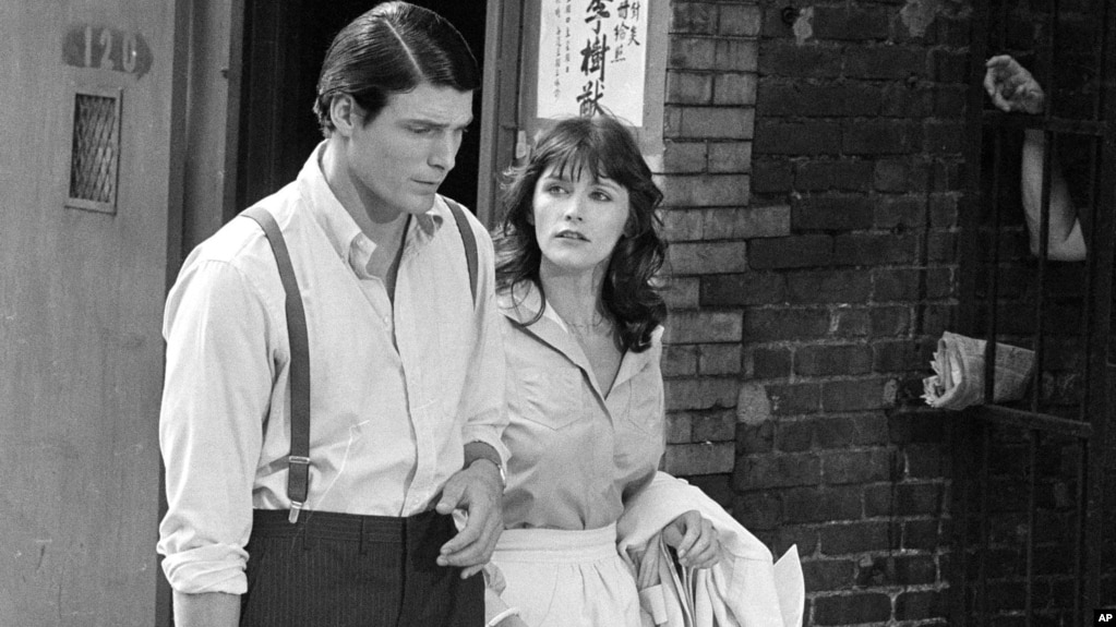 Margot kidder lois lane in superman franchise dies file christopher reeve and margot kidder r appear during the filming of thecheapjerseys Image collections