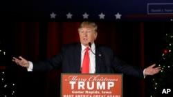 دانالد ترمپ بخاطر موقف گیری اش در برابر دهشت افگنی، حمایت بیشتر رای دهندگان جمهوریخواه را با خود دارد