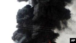 نیروبی: ایندھن کی پائپ لائن میں دھماکے سے درجنوں ہلاک