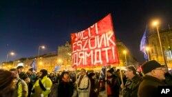 Марш у Будапешті проти приїзду Путіна