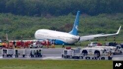 Sistem keamanan di bandara internasional Ninoy Aquino di Manila, Filipina dinilai di bawah standar internasional oleh AS (foto: ilustrasi).