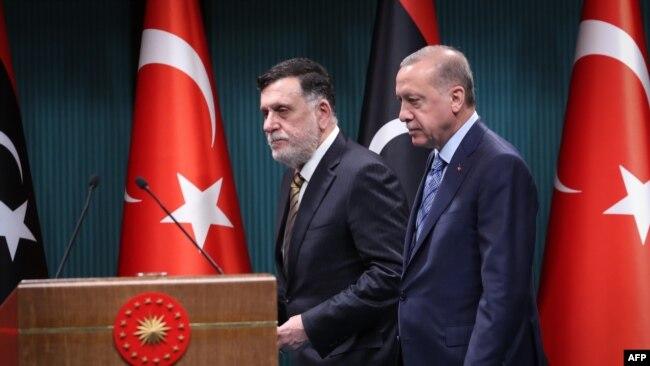 Recep Tayyip Erdoğan ve Fayiz El Saraç