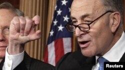 El patrocinador del proyecto en la cámara alta fue el senador demócrata por Nueva York Charles Schumer.