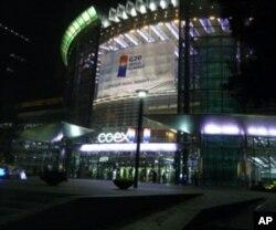 午夜的G20媒体中心仍然灯火通明