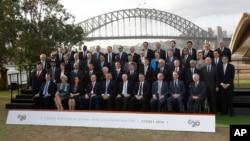 Australia G20 Finance Ministers