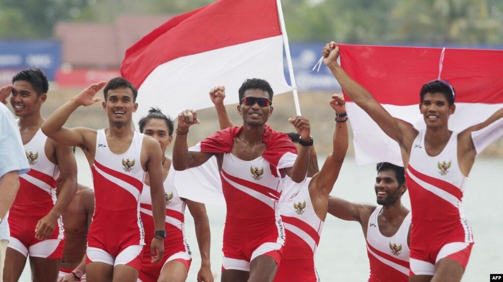 Tim Dayung Indonesia mbahkan Emas ke-9 Asian Games on asian haiti, asian country, asian india, asian nigeria, asian jamaica,