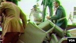 Hosni Mubarak, neposredno nakon atentata na predsjednika Egipta Anwara Sadata 1981.