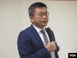 台湾民进党籍立法院副院长蔡其昌
