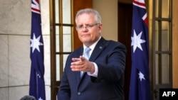 资料照:澳大利亚总理莫里森