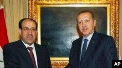 عراقی وزیر اعظم کی ترکی کےرہنماؤں سےملاقات