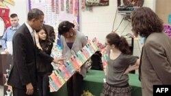 Օբաման կոչ է արել Կոնգրեսին նպաստել կրթական բարեփոխումներին