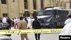 'Yansanda sun killace Masallacin da aka kaiwa hari a kasar Kuwaiti