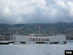 夏威夷珍珠港美國海軍亞利桑那號戰列艦紀念館(資料照)