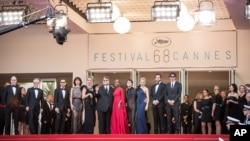 France Cannes Standing Tall Red Carpet