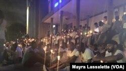 Vigília em Luanda a favor de activistas angolanos