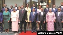 Elenco governamental de Moçambique. Janeiro de 2020