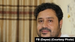 Afghanistan -- Mohammad Alyas Dayee RFERL journalist Died in Helmand on Road Side Bomb,12 Nov 2020