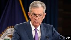 Kepala bank sentral AS atau The Fed, Jerome Powell