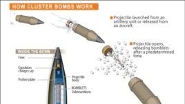 Cluster bomb diagram
