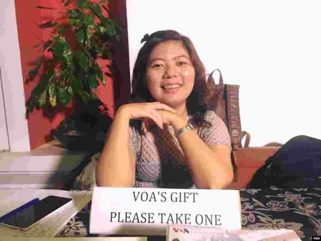 VOA Myint Myint Khine