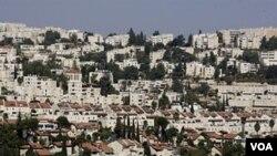 Situasi sekitar pemukiman Israel di Ramot (Foto: dok).