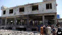阿富汗喀佈爾爆炸受襲最少十人死亡。