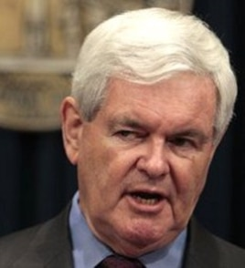 Former U.S. House of Representatives Speaker Newt Gingrich (file)