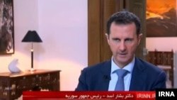 ایک ایرانی ٹی وی نے اتوار کو شام کے صدر صدر بشار الاسد کا انٹرویو نشر کیا ہے