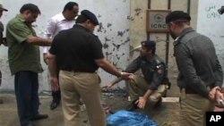 کراچی : ریڈ کراس کے دفتر کے باہر دھماکے کی کوشش ناکام