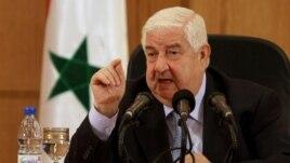 Al-Moallem: Siria do t'i përgjigjet sulmeve perëndimore