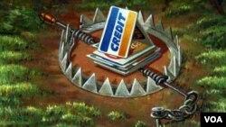 美國信用卡債務逼近萬億美元