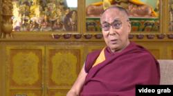 达赖喇嘛(视频截图)