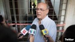 Carlos F. Chamorro, director del portal de noticias nicaraguense Confidencial, cuyas oficinas fueron allanadas por la policía del país en Diciembre. Foto: Confidencial.com.ni