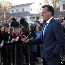 Prezidentlikka respublikachilardan yetakchi nomzod Mitt Romni