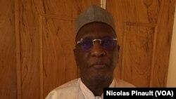Amadou Boubacar Cissé, membre de la Copa 2016, coalition d'opposition au Niger, le 19 février 2016 à Niamey.