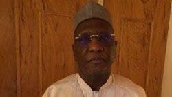 Amadou Boubacar Cissé au micro de Nicolas Pinault