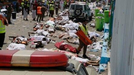 Žrtve stampeda u Saudijskoj Arabiji