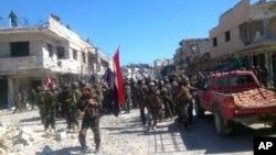 Ο συριακός στρατός μπαίνει στην Κουσέιρ