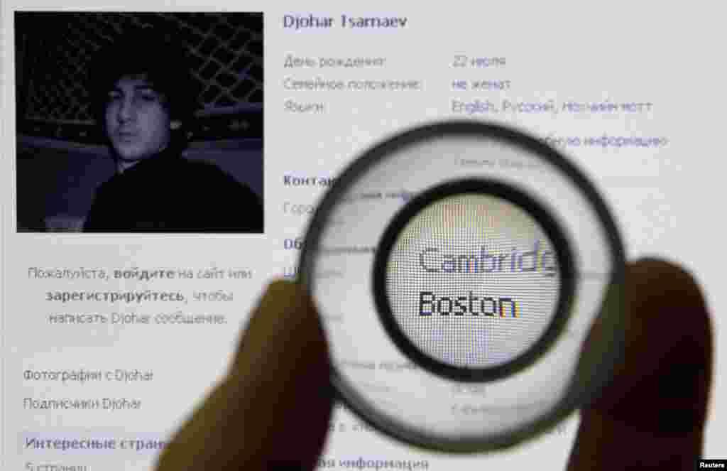 En una verdadera cacería se ha convertido la búsqueda del sospechoso de haber cometido el atentado durante el maratón de Boston. El joven terrorista prófugo Dzhokhar Tsarnaev aparece en la red social rusa Vkontakte (VK).