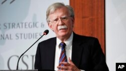 Mantan penasihat keamanan nasional AS, John Bolton.